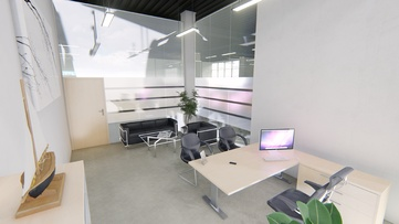 3д визуализация офиса