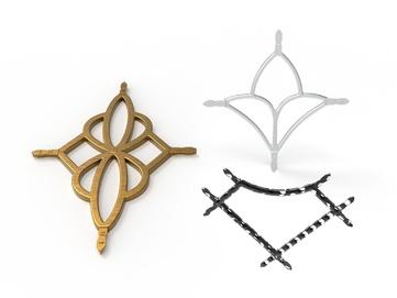 3д логотипа