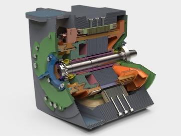3д модель мотора
